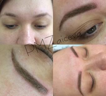 Волосковый татуаж бровей — цена приемлема