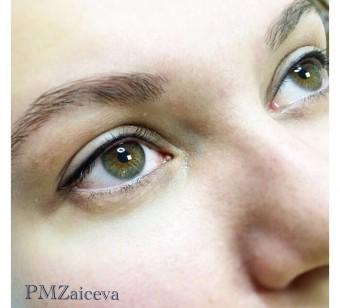 Межресничный татуаж глаз последствия