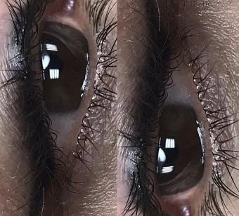 Межресничный татуаж глаз в Железнодорожном